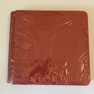 Creative Memories 7x7 Fall Leaves Scrapbook Album